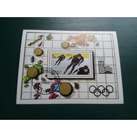 Верхняя Вольта 1980 год спорт