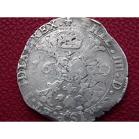 Талер Патагон 1660 г. ( Испанские Нидерланды )
