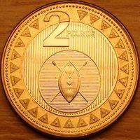 2 фунта 2015г. Африканский щит.