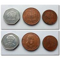 Ямайка - 3 монеты (из коллекции) - цена за все