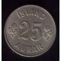 25 аурар 1963 год Исландия