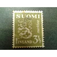 Финляндия 1942 стандарт, герб