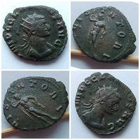 Галлиен (253-268 гг.). Юпитер стойкий. Редкий тип! Редкая монета! Очень редкое отличное состояние AU!!!