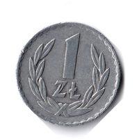 Польша. 1 злотый. 1975 г.