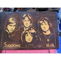 Панно Shocking Blue 42,5х27 см.