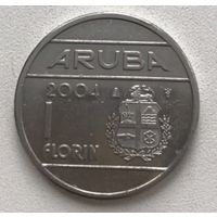 Аруба 1 флорин 2004 г.