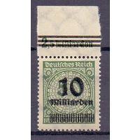 Германия Инфляция НДП Локал Бреслау (**) 1923 г
