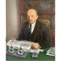 Авторская картина (Ленин) худ Вайшля.Л.И. 1987г