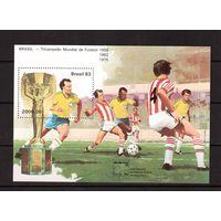 Бразилия-1983(Мих.БЛ.59)  ** , Спорт, футбол
