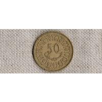 Тунис 50 миллимов 1997