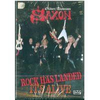 DVD-Video  Oliver/Dawson Saxon: Rock Has Landed - It's Alive