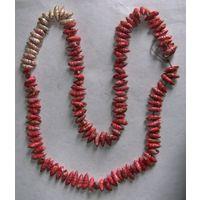 Ожерелье из моллюсков, с рубля!!!