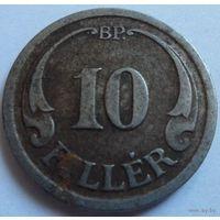 Венгрия 10 филлеров 1940, сталь