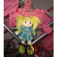 Забавная малышка. Кукла мягконабивная небольшая. Германия.