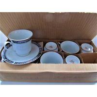 Чайный набор.6 персон.старый Китай.
