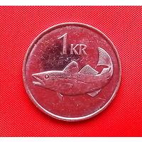 09-03 Исландия, 1 крона 2006 г.