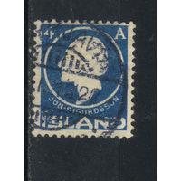 Дания Исландия Владение 1911 100-летие Йоуна Сигурдссона - автора конституции Стандарт #65