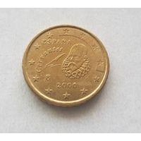 10 евроцентов 2000 Испания