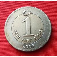 27-16 Турция, 1 лира 2006 г.