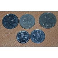 Монеты Грузии 1993 года.