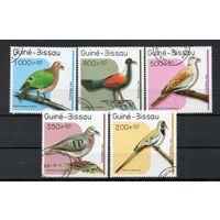 Фауна Птицы Гвинея-Бисау 1989 год 5 марок