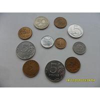 Набор монет лот 34