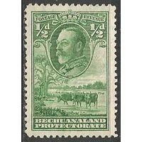 Бечуаналенд. Король Георг V. Стадо скота. 1932г. Mi#82.