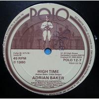 "12"" Adrian Baker - High Time (1980) Funk, Disco"