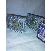 Транзисторы КТ903Б  на радиаторах.  (пара)