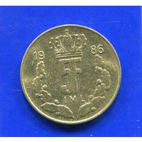 Люксембург 5 франков 1986