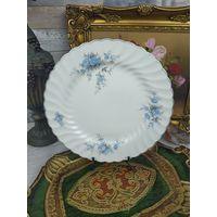Коллекционная тарелка Фарфор с Цветами Роспись