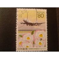 Япония 2005 Боинг 747-400, орхидеи