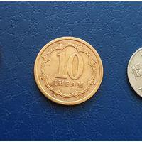 10 дирам 2006 Такжикистан