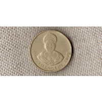 Свазиленд(Эсватини) 1 лилангени 2005/Король Мсвати III/KM# 45