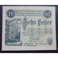 Нотгельд. 10 геллеров #16