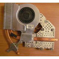 Система охлаждения HP Probook 4515s  p/n 535805-001 (вентилятор 535766-001)