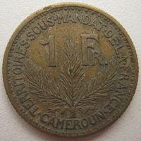 Камерун 1 франк 1926 г.
