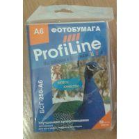 Фотобумага profiline БСГ-250-А6 суперглянцевая 35 листов.