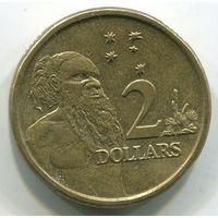 АВСТРАЛИЯ - 2 ДОЛЛАРА 1988