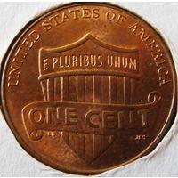 США 1 цент 2010 год