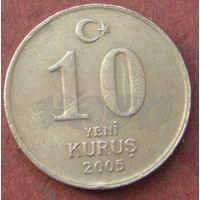 6256:  10 куруш 2005 Турция