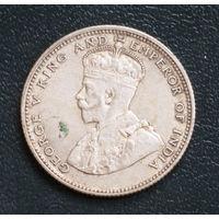 Британские Стрейтс-Сетлментс 20 центов 1927