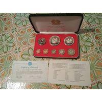 ПАПУА Новая Гвинея 1975г (комплект монет)