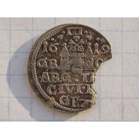 3 гроша 1619 ( Редкий R-4 )
