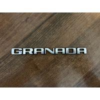 Шильдик Гранада для Форд Гранада, отличное состояние, металл
