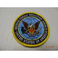 Шеврон американского агенства по сокращению угрозы обороны(аналог НАКИ)