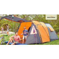 Огромная палатка 5м*3м*1,95м  4-х местная Adventuridge(Германия) РАСПРОДАЖА!!!