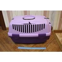 "Переноска ""TRIXIE"" Traveller Capri I для мелких животных до 6кг,32х31х48см,фиолетовая/сиреневая"