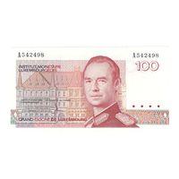 Люксембург 100 франков 1986 года. Тип Р 57а. Состояние UNC! Редкая! (2)