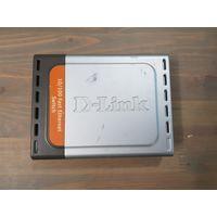 Коммутатор сетевой хаб D-Link DES-1005D без блока питания, нужен 7.5в 1а.